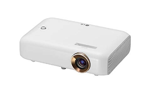 LG CineBeam PH550G - Proyector con batería integrada (hasta 100', autonomía 2,5h, fuente LED, 550 lúmenes, 1280 x 720) Color Blanco