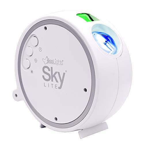BlissLights Sky Lite - LED Proyector Estrellas, Luces Galaxia, Iluminación de la Habitación y Luz Nocturna (estrellas verde)