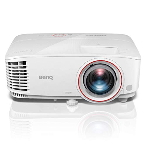 Benq TH671ST - Proyector DLP 1080P 3D Tiro Corto Gaming (Full HD, 3000 Lúmens, Tiro Corto de 100 Pulgadas a 1.5 m, Altavoces de 5 W, Inalámbrico, HDMI, MHL), Multicolor