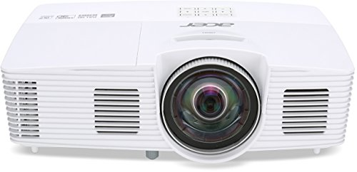 Acer H6517ST - Proyector (FHD 1920 x 1080, DLP 3D, 2 x HDMI, 255 W), blanco