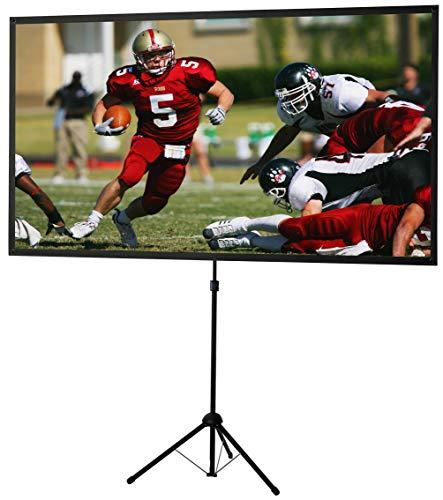 celexon portátil, ligero y móvil pantalla de vídeo-trípode con barra telescópica de altura ajustable Ultra-ligero - 177 x 100 cm - 16:9.
