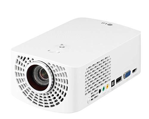 LG Cinebeam HF60LSR - Proyector TV hasta 120'', Fuente Led, 1.400 Lúmenes, Resolución 1920 X 1080 Color Blanco