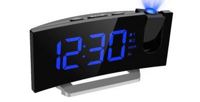 relojes despertadores con proyector