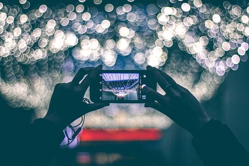 proyector de pantalla de teléfono